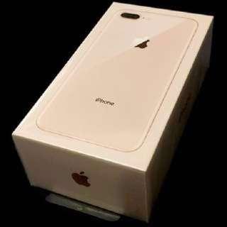i phone 8 plus Rose Gold 256GB
