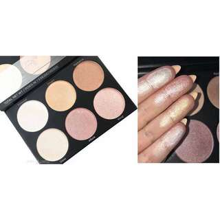 BH Cosmetics Spotlight Highlighter 6in1