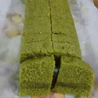 Brownies Kukus Matcha (green tea)