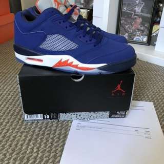 New Air Jordan Retro V Knicks US 10