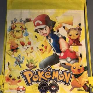 Pokemon Drawstring Backpack Bag - Free Shipping