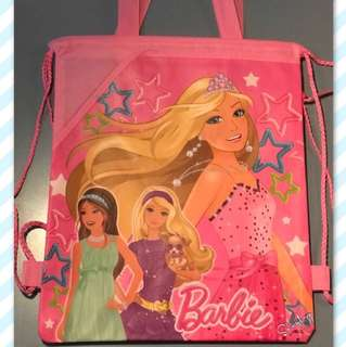 Barbie Drawstring Bag Backpack with Handle - Free Shipping