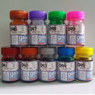 (updated 13th Nov) Gaianotes Clear Color paint series(15ml) 041-049
