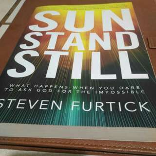 Sun Stand Still by Steven Furtick