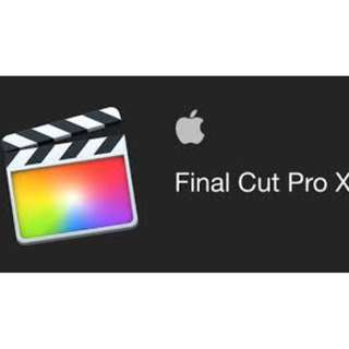 Final Cut PRO X ( LIFETIME )