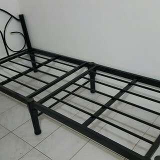 for sale single metal bed frame