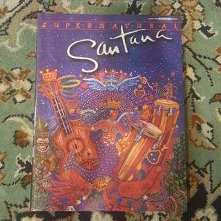 Santana Supernatural tablature book