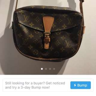 LV Louis Vuitton double sided sling 雙面斜揹袋