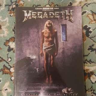 Megadeth tablature book