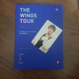 WTT Jin pc 2017 BTS Live Trilogy Episode III The Wings Tour in Seoul Concert DVD
