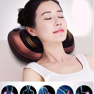Multifunction Body Cushion Cervical Massage Pillow for Car Home
