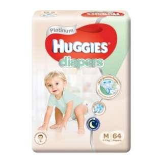 Huggies M diapers