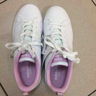 Adidas advantage clean 櫻花粉