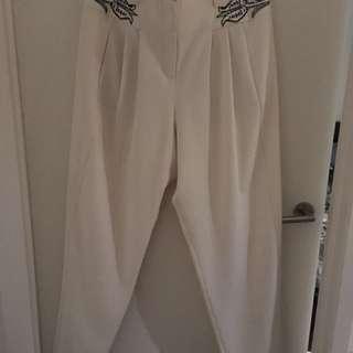 "Sass & Bide ""Black Night"" dress pants size 14"