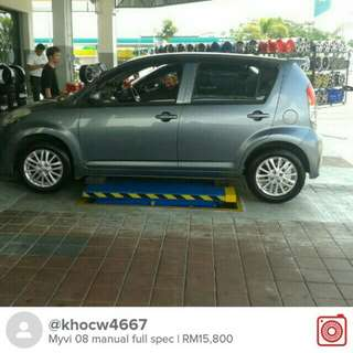 Myvi 08 manual full spec