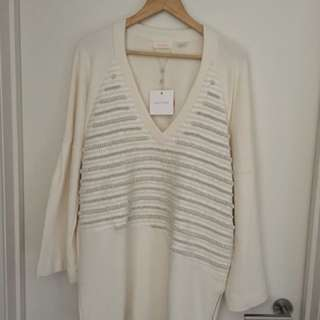 """Sass & Bide """"Industrial Love"""" dress/ Top. new with tags size 12"""