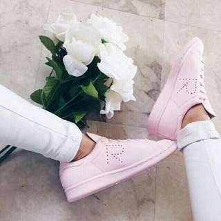 PINK RAF SIMONS x STAN SMITH