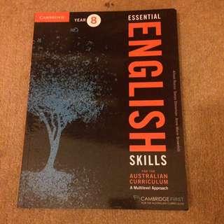 year 8 essential english