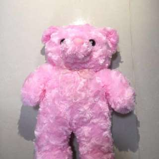 Soft and fluffy pink teddy Bear