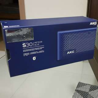 AKG S30 portable bluetooth speaker