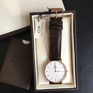 Daniel wellington Classic York 36mm Rose Gold Watch.