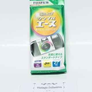 Fujifilm QuickSnap Simple Ace Disposable Camera 27 shots