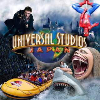 Osaka Universal Studios 1 Day E-Ticket (Valid until 31 Dec 2017)