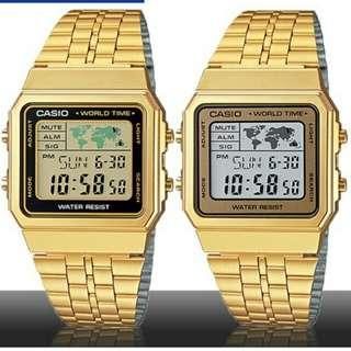 6折全新行貨卡西歐防水数字鋼錶-40%Off Brand New Original Casio Water Resistance Digital Metal Watch