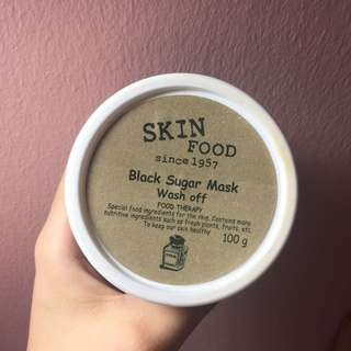 Skinfood Black Sugar Exfoliate Mask