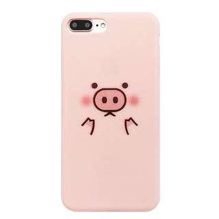 (全新) iphone6/6s plus小豬電話殼