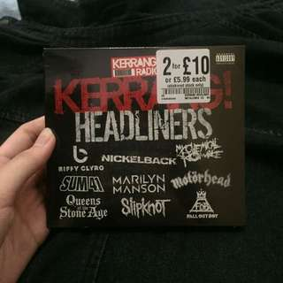 Kerrang Headliners CD