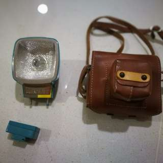 Lomo Diana Mini F+ (with leather case)