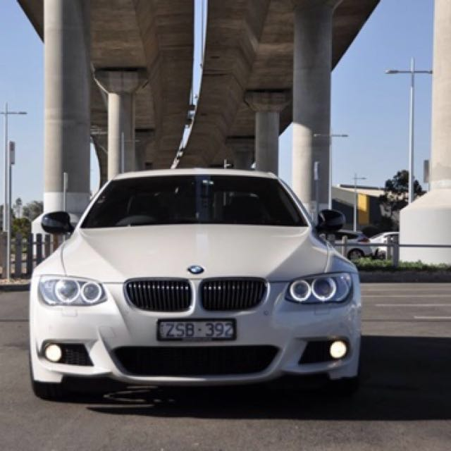 2013 BMW 320D LCI M SPORT MINERAL WHITE AUTO 2DR SPORTS COUPE