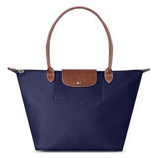 Longchamp La Pliage in Navy