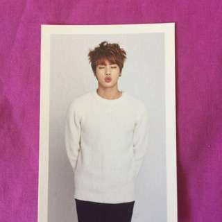 BTS JIN 2ND ARMY MEMBERSHIP CARD