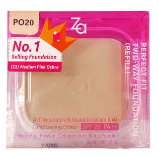 ZA perfect fit foundation refill PO20 free normal mail!