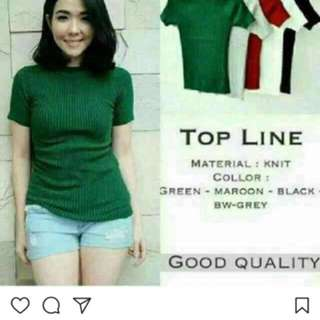 top line pendek