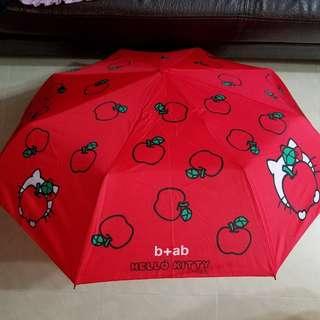 b+ab Hello Kitty 雨傘