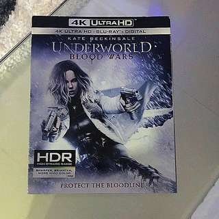 Underworld: Blood Wars 4K Bluray