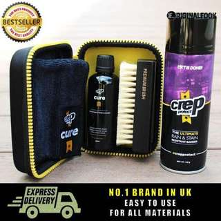 Crep Protect Cleaning Kit + Dirt & Stain Repellent Spray