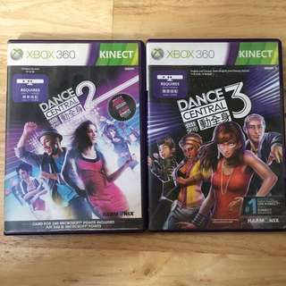 XBOX 360 Kinect: Dance Central 2 & 3