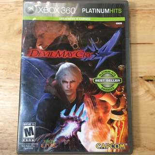 XBOX 360: Devil May Cry 4