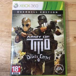 XBOX 360: Army of Two - The Devil's Cartel