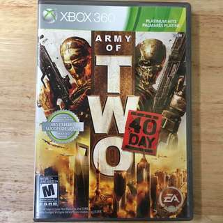 XBOX 360: Army of Two - The 40th Day