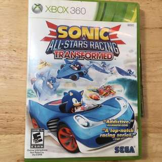 XBOX 360: Sonic & All-Stars Racing Transformed