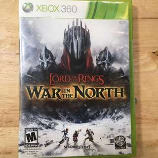 XBOX 360: The Lord of the Rings (War in the North)