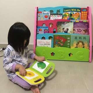 Book rack for children