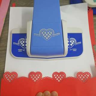 Craft border paper punch