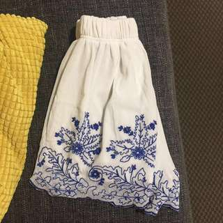 Loving Things Embroidered Shorts