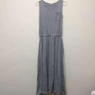 🌵灰色棉質背心洋裝 #手滑買太多